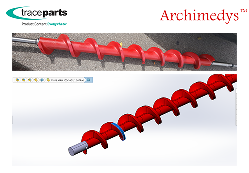 Archimedys - Exventys Teams Up with TraceParts to Promote its Components