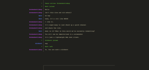 Here's a brilliant way to create instant chatrooms that disappear when you're done