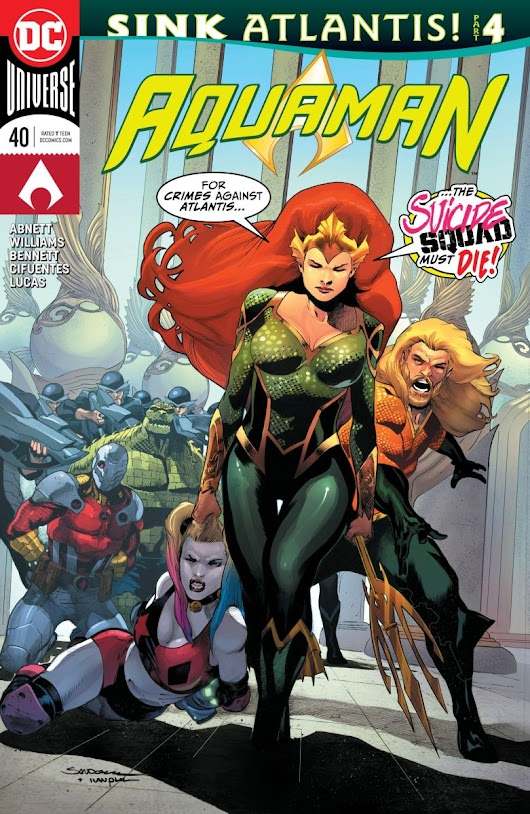 Aquaman #40 review