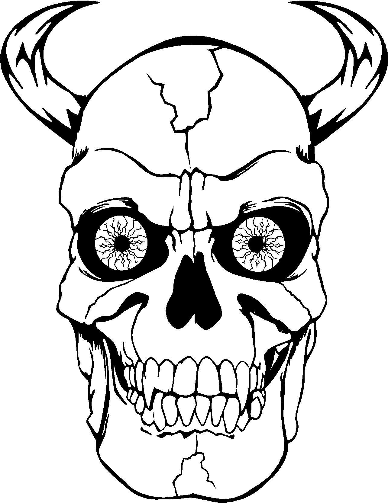 ausmalbilder totenkopf free download  ausmalbilder