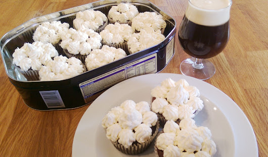 Dark, sweet, Irish whiskey laden cupcakes! | European Cuisines