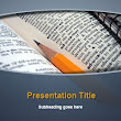 Free Dictionary PowerPoint Template | Free Powerpoint Templates