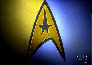 The logo for STAR TREK XI.