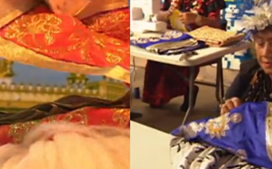 'I call it recycling' - unusual partnership develops between Sikh community and retired Cook Islands women over sacred cloth | SikhNet