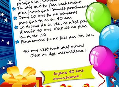 Carte Virtuelle Animee Anniversaire 40 Ans Coleteremelly Blog