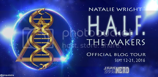 {Book Nerd Tour} H.A.L.F The Makers Excerpt & Music Playlist! Plus GIVEAWAY!