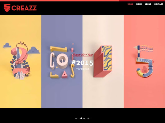 Projet Creazz - Integrateur Web & Developpeur Wordpress Freelance @ Lyon