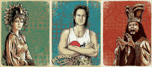 "Godmachine ""Big Trouble in Little China"" Set 