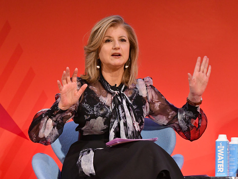 Arianna Huffington Post Thrive Global
