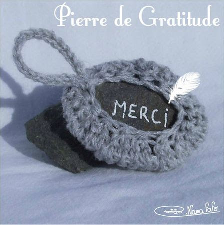 Pierre de gratitude nf