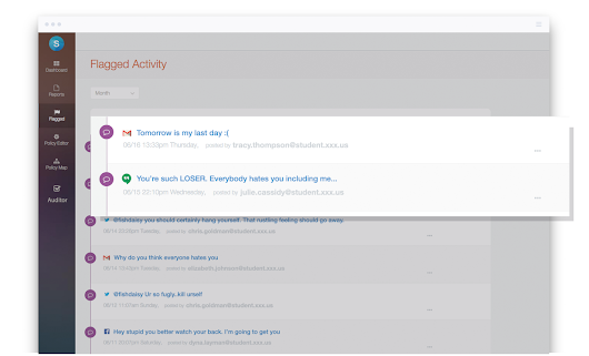 "Introducing ""Auditor by Securly"" – A free tool to monitor Google Mail and Chats for bullying and self-harm"
