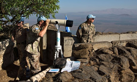 Golan Heights observers