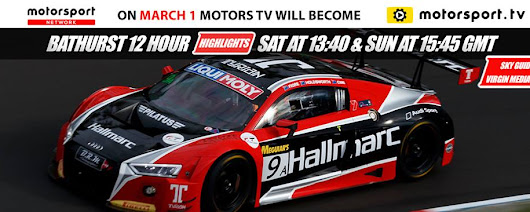 Motors TV branding to be replaced by Motorsport.tv from March 1st