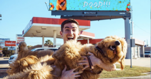 Dog Lover Rents Billboard To Share A Special Message With His Dog