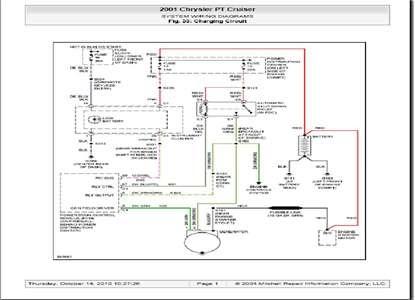 2001 Pt Cruiser Fuse Box Diagram - Wiring Diagram