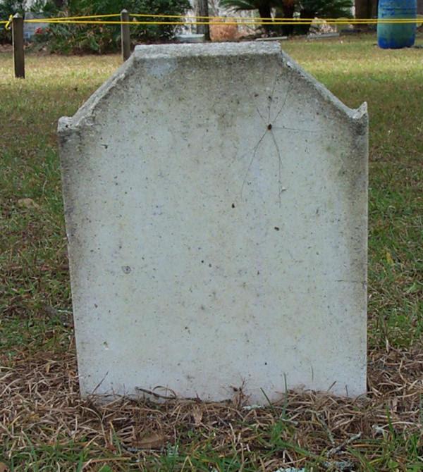 Blank gravestone – cbrx