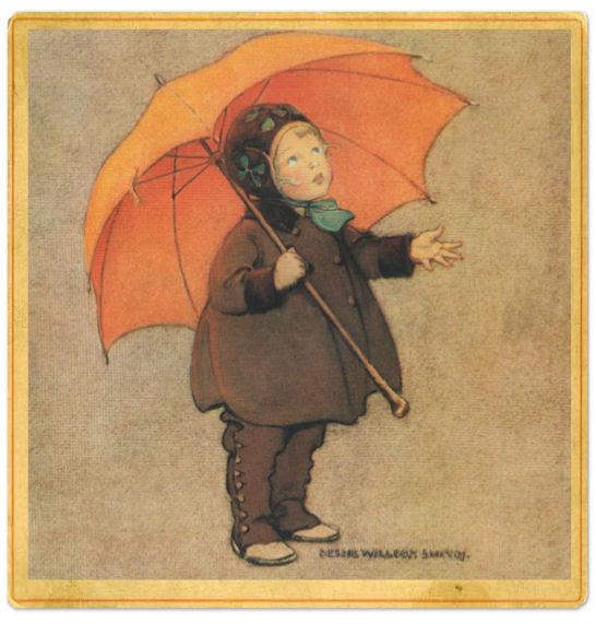 Regen - Jessie Willcox Smith