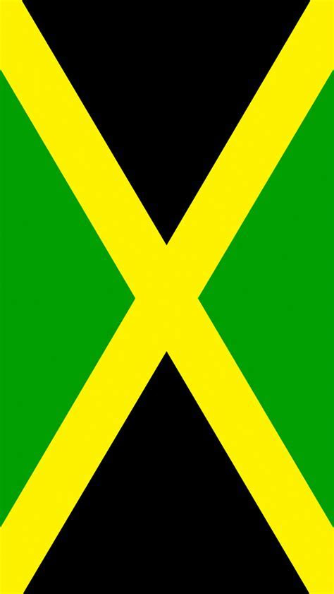 Jamaica Flag iPhone Wallpaper HD