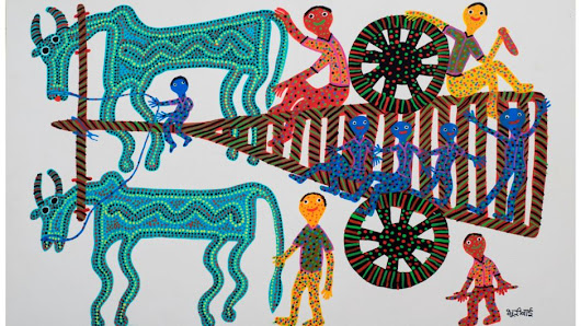 If the West can appreciate India's tribal art, why can't Indians? | ArtOnLine