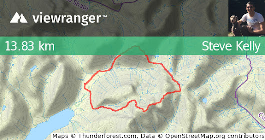 ViewRanger - TrackFollow_Great Gable, Scarfell Pike and Sca Fell – GPS for Apple, Symbian and Android