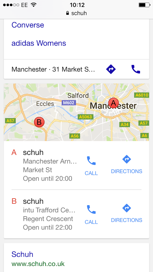 Local search experiences: The good, the bad and the ugly