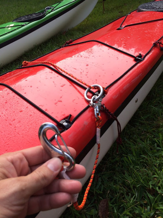 New Take on Contact Tows | KAYAK TOM