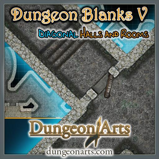Greytale's Dungeon Blanks 5 | Roll20 Marketplace: Digital goods for online tabletop gaming