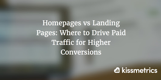 Homepages vs Landing Pages: Where to Drive Paid Traffic