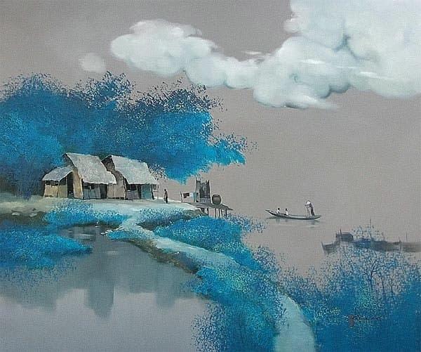 художник Dang Van Can картины – 06