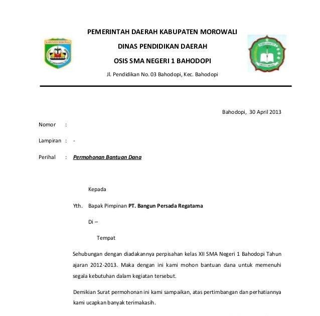 Contoh Proposal Ldks