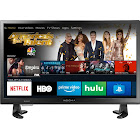 "Insignia - 24"" Class – LED - 720p – Smart - HDTV – Fire TV Edition - Black"