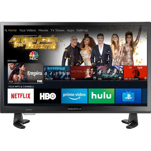 "Insignia - 24"" Class – LED - 720p – Smart - HDTV – Fire TV Edition - Black"
