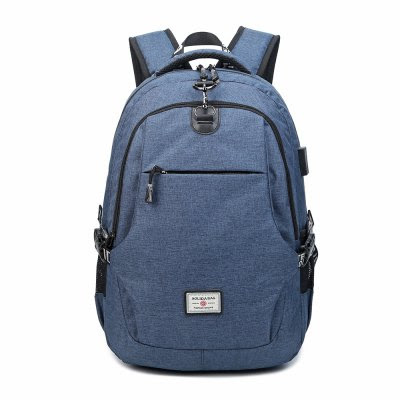 Korean Style Men's Backpack Anti-Theft Computer Travel Bag -$40.59 Online Shopping| GearBest.com