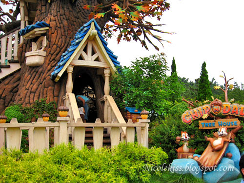 chip and dale treehouse