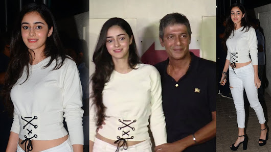 Chunky Pandey's 19 Year Old Daughter Wins Many Hearts, See 7 Pics