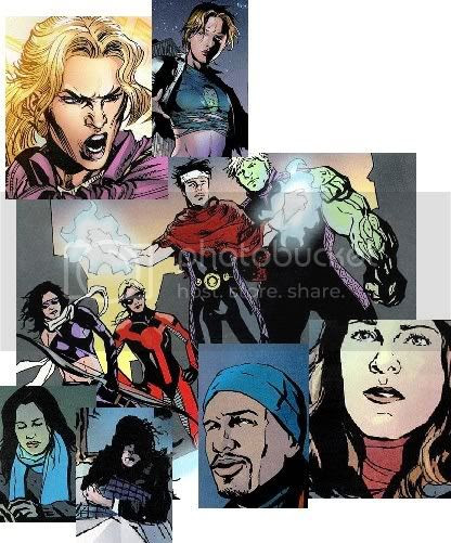 Jovens Vingadores, Jessica Jones & Luke Cage