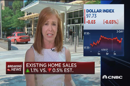 May existing home sales up 1.1%