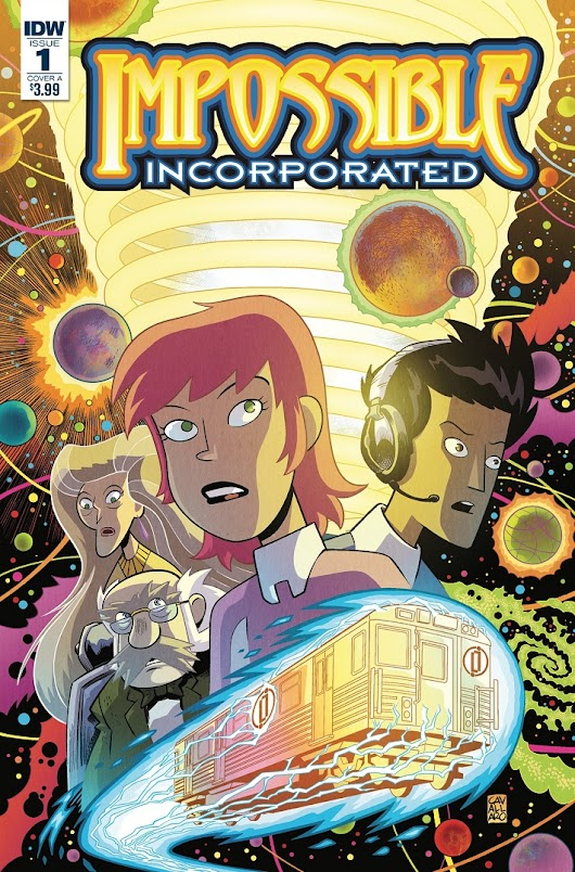 J.M. DeMatteis and Mike Cavallaro travel with IMPOSSIBLE, INCORPORATED