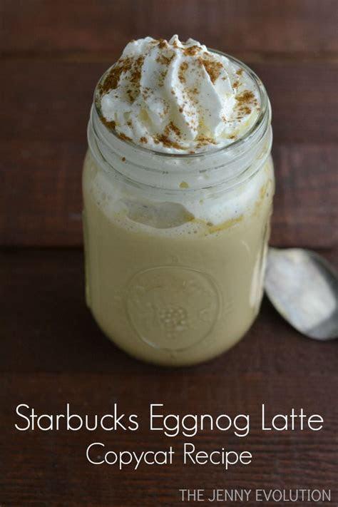 starbucks eggnog latte copycat recipe seasons