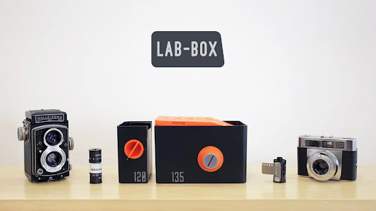 LAB-BOX - The first multi-format daylight-loading film tank