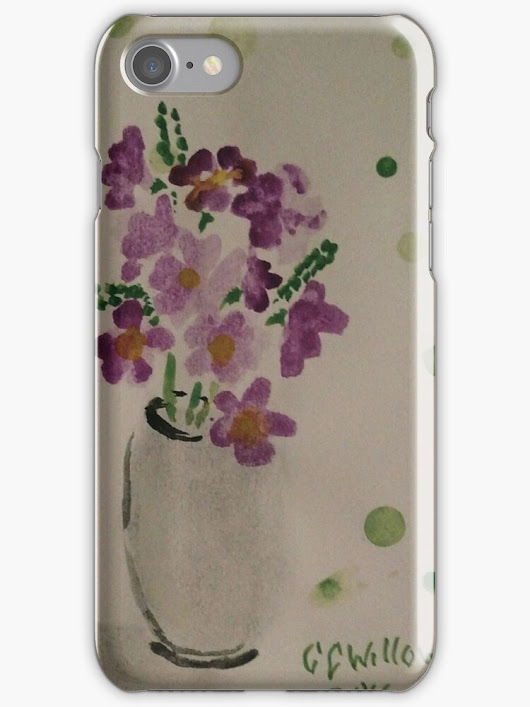 'Anemones' iPhone Case/Skin by CCWillow