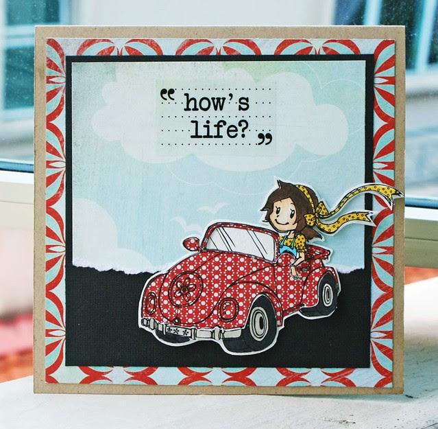 How's-life-card
