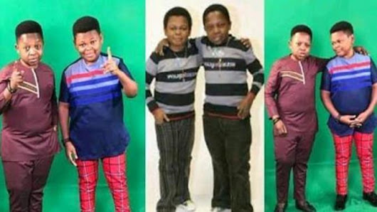 Osita Iheme And Chinedu A.K.A Aki & Paw Paw Joins The 10 years Challenge, Check Out Their Funny Throwback Photos