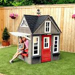 KidKraft Stonewood Outdoor Playhouse