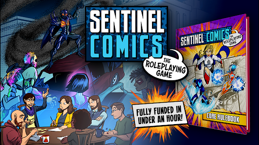 Sentinel Comics: The Roleplaying Game