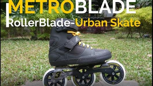 inline skate rollerblade 3wd metroblade review urban skate