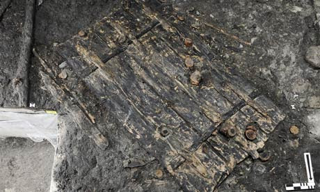 Swiss unearth 5,000-year-old door
