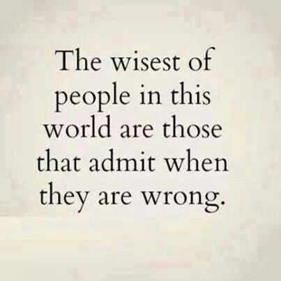 Quotes About Accepting Your Wrong 19 Quotes