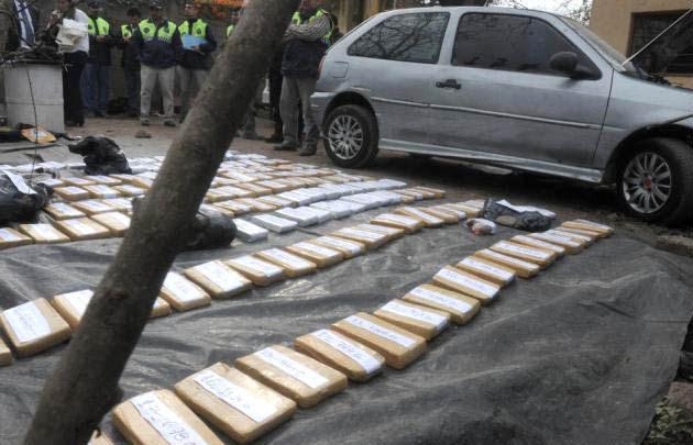 Tucumán | La Policía incautó 150 kilos de marihuana