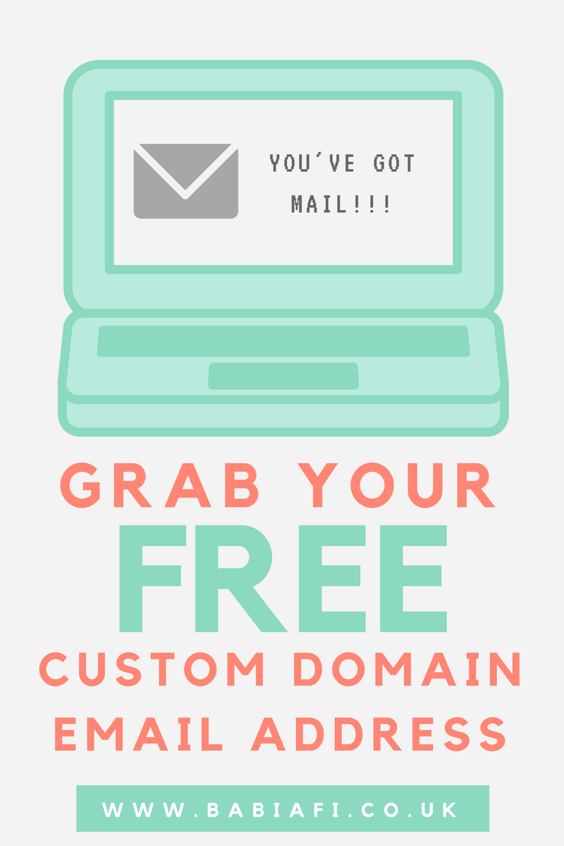 How to set up a custom domain email address - for free!